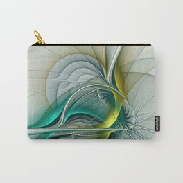 Fractal Evolution, Abstract Art Graphic Carry-All Pouch