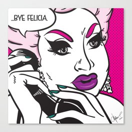 'What a Drag' - Lady Galore Canvas Print