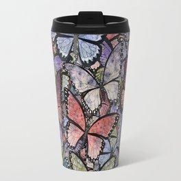 butterflies galore grunge version Travel Mug