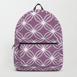 Abstract Circle Dots Purple Backpack