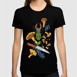 Autumn dreams of mushroom crime T-shirt