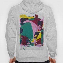 Miniature Original - pink and green Hoody