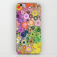 Summer Circles iPhone & iPod Skin