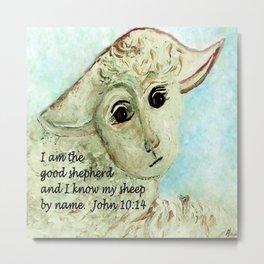 The Good Shepherd Metal Print