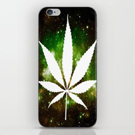 Weed : High Times Galaxy iPhone Skin
