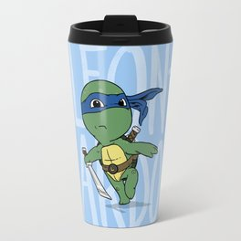 TMNT: Leonardo (Cute & Dangerous) Travel Mug