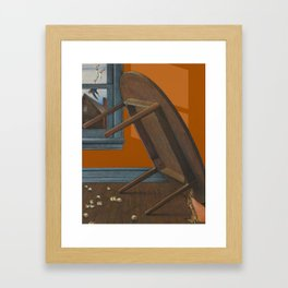 mishap Framed Art Print