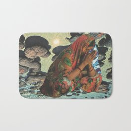 deep sea meditation Bath Mat