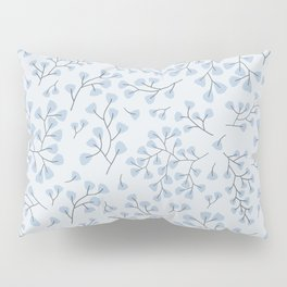 Blue Maidenhair Pillow Sham