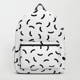 Memphis pattern 36 Backpack