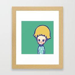 Where are you, little star? Framed Art Print