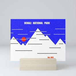 Denali National Park Mini Art Print