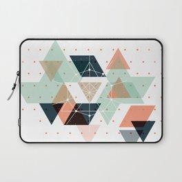 Midcentury geometric abstract nr 011 Laptop Sleeve