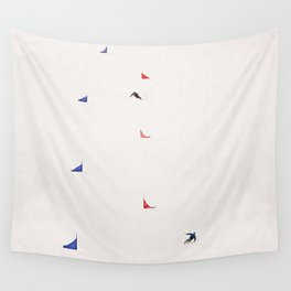 i'd rather be skiing Wall Tapestry