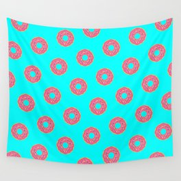 The Donut Pattern Wall Tapestry