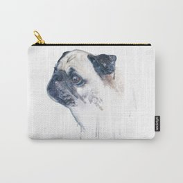 Pug Forest Carry-All Pouch