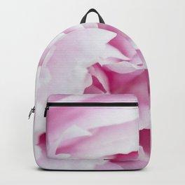 Pink Flower Petals Backpack