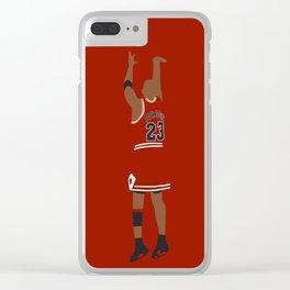 NBA Players | MichaelJordan Dunk Clear iPhone Case