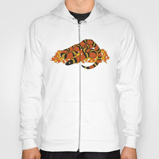 Mexican Candy Corn Snake Hoody
