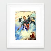 bioshock Framed Art Prints featuring Bioshock Infinite by Alba Palacio