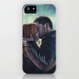 Clary & Jace iPhone Case