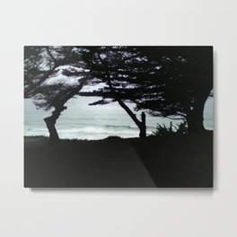 Norcal Seaside Metal Print