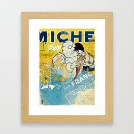Michelin Ñam Ham Framed Art Print
