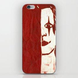 Brandon Lee Red iPhone Skin