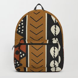 Let's play mudcloth Backpack
