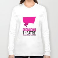 theatre Long Sleeve T-shirts featuring Showroom Theatre by Chris Andrawes