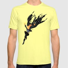 Emberwitch Mens Fitted Tee SMALL Lemon