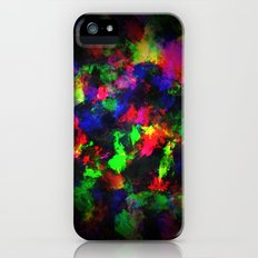 Bright Colors of Paint iPhone (5, 5s) Slim Case
