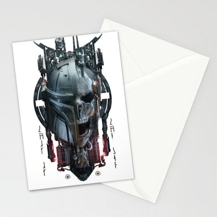 Mando - 3 Stationery Cards