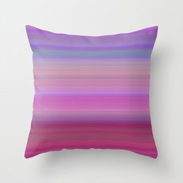Girly gradient Throw Pillow