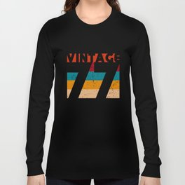 VINTAGE 77 Long Sleeve T-shirt