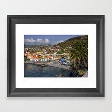 Camara de Lobos Madeira Framed Art Print