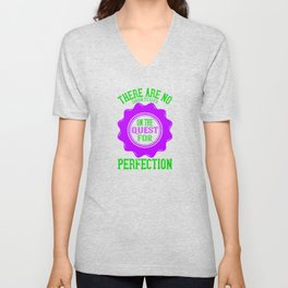 Fun Golf Design Quote Unisex V-Neck