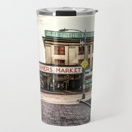 Seattle Pike Place Market Travel Mug