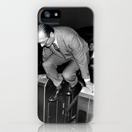 Chirac and the Metro! iPhone Case