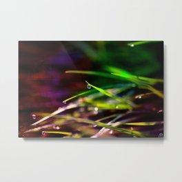 Leaves of Grass Metal Print