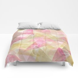Abstract geometry pattern Comforters