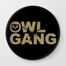 OVO Owl Gang Wall Clock
