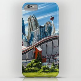 Downtown Calgary Skyline iPhone Case