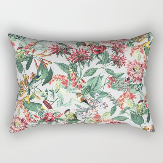 Botanical Garden II Rectangular Pillow