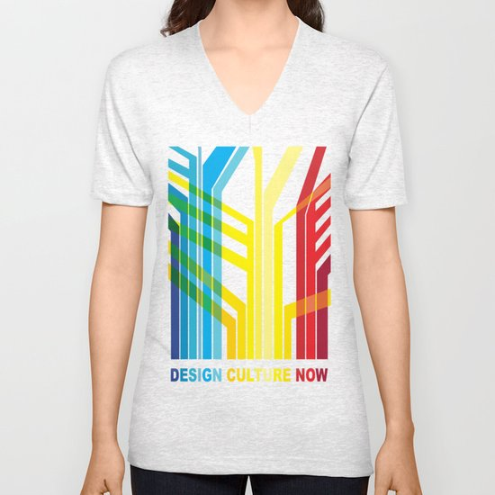 Design Culture Unisex V-Neck