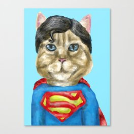 Super Cat Canvas Print