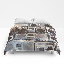 Boom boxes Comforters