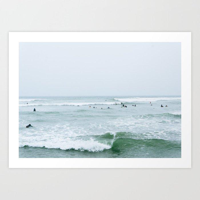 Tiny Surfers Lima, Peru 3 Kunstdrucke