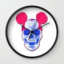 Mickey Mouse Skullface (aka Norman Bates' Dad) Wall Clock