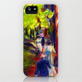 Max Liebermann Forest Walk iPhone Case